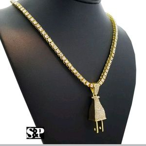 Other - MEN'S HIP HOP ICED OUT NECKLACE